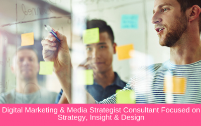 Digital Marketing & Media Strategist Consultant Focused on Strategy, Insight & Design