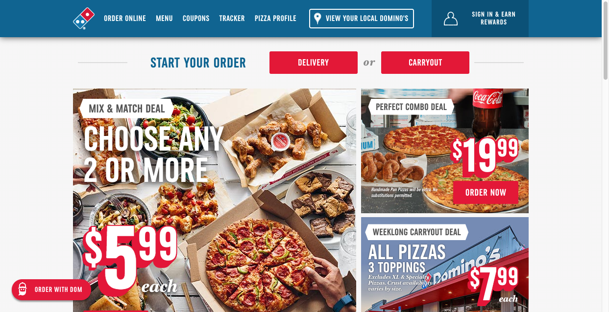 companies with the best digital marketing campaigns dominos