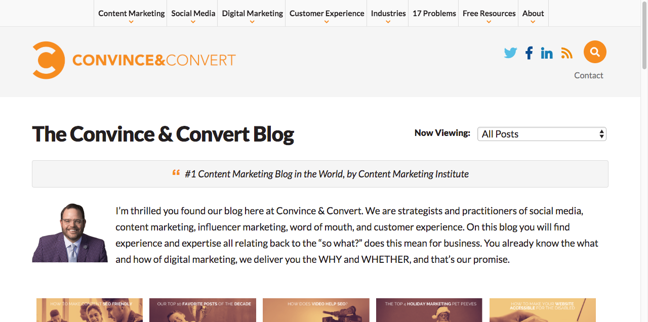 the convince & convert blog